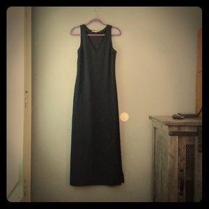 Boston Proper Black Maxi Dress